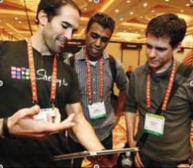 Entrepreneurs Connect at the 2012 International CES